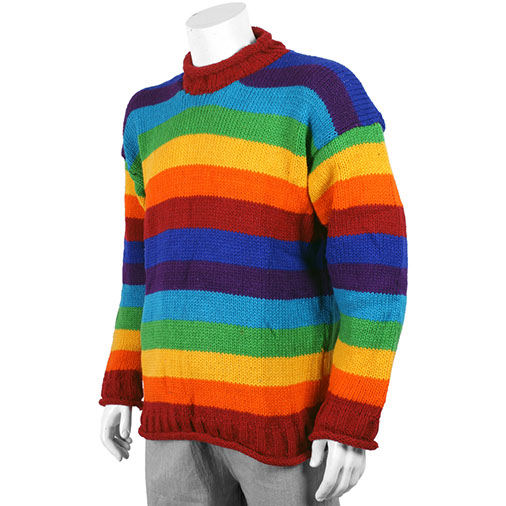 Woollen Rainbow Jumper