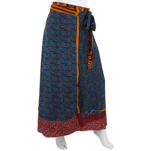 Indian Wrap-Around Skirt