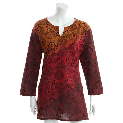Mandala Print Tunic