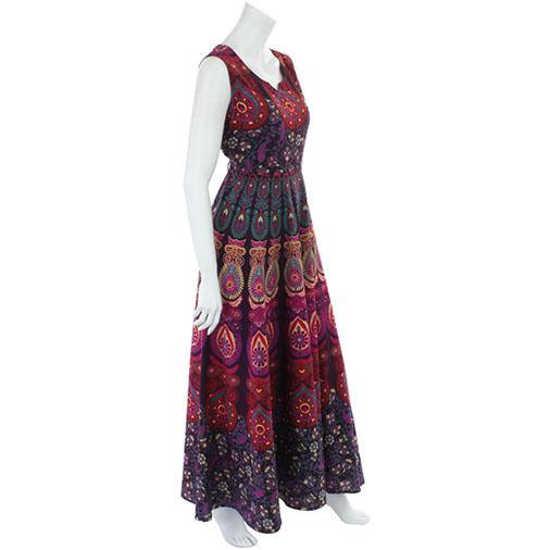 Bedspread Maxi Dress