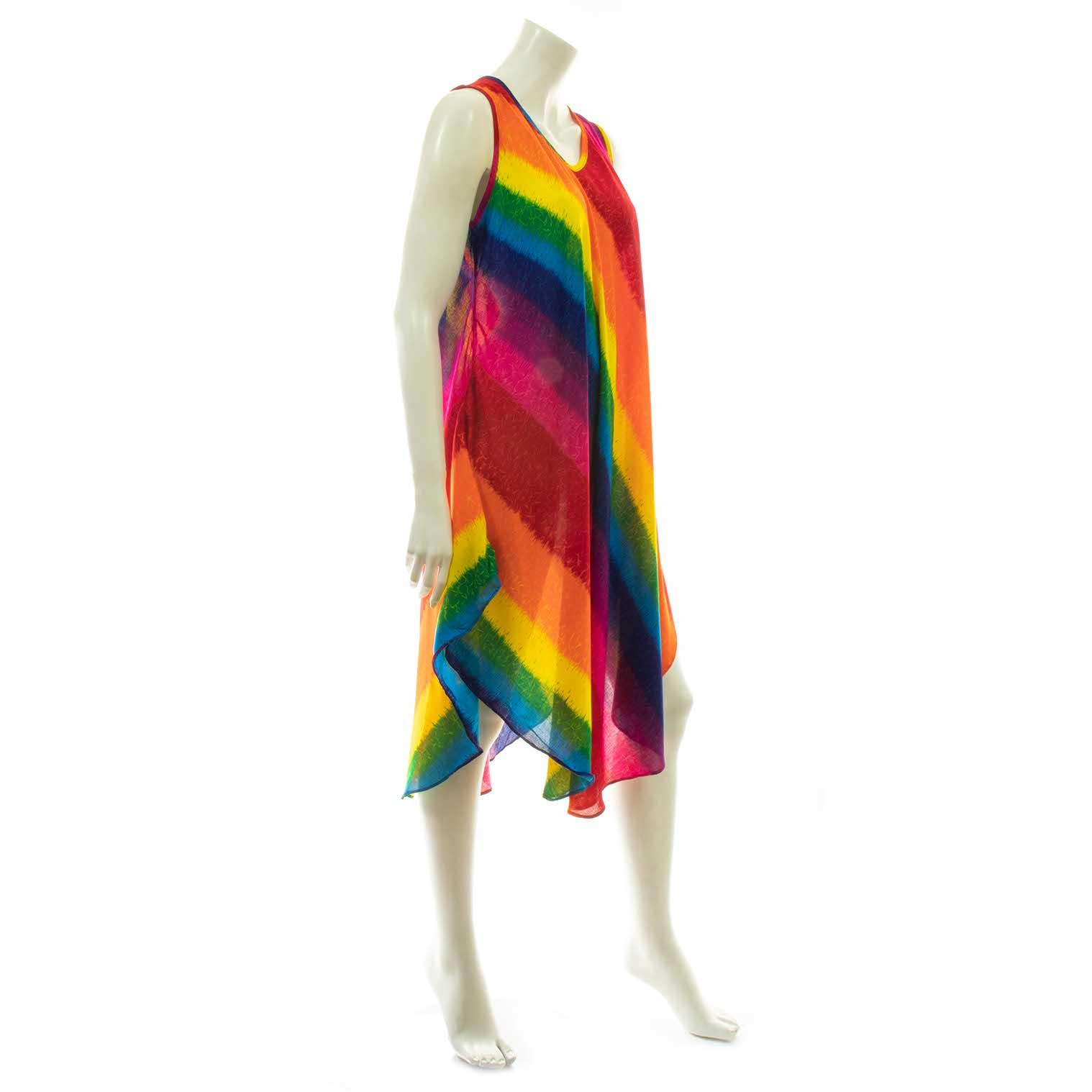 Rainbow Stripes Dress