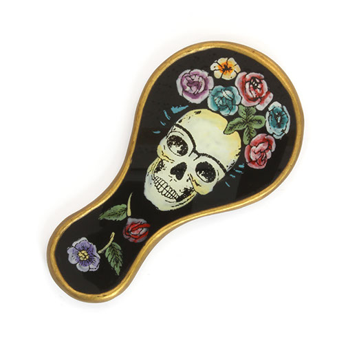 Crown of Roses Calavera Vanity Mirror