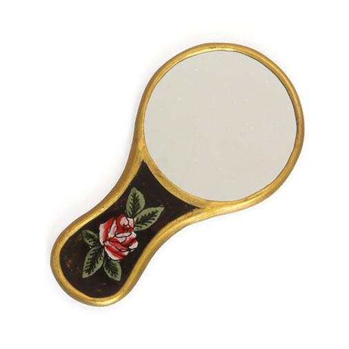 Rosa Calavera Vanity Mirror