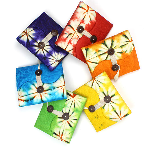 Tie Dyed Lokta Book