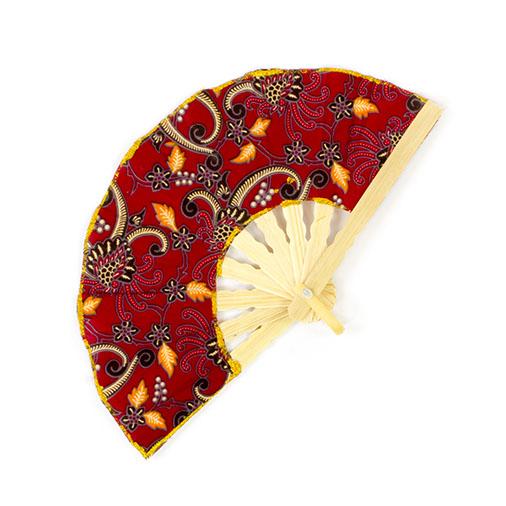 Ten Bali Batik Fan