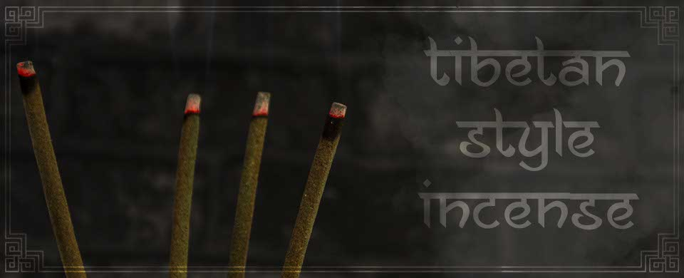 Tibetan Style Incense