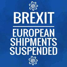 European Shipments Suspended